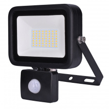 LED reflektor PRO so senzorom, 50W, 4250lm, 5000K, IP44